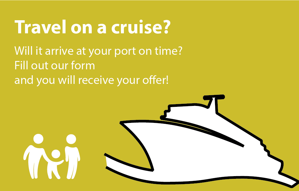 How do you get to the port on time? Fill in our form and get your offer!